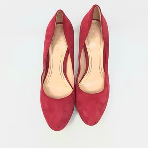Cole Hann Nike Air Chelsea Red  Pumps Size 8